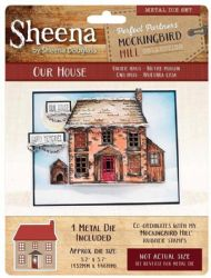 Crafters Companion - Sheena Douglass - Mockingbird Hill - Our House